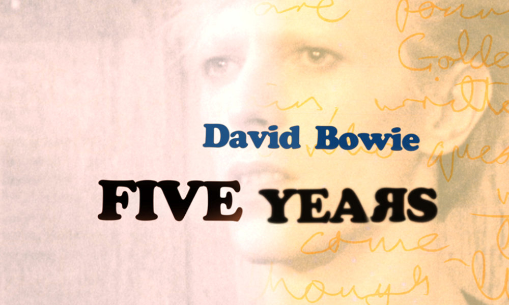 David Bowie. Five Years.