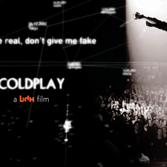 Coldplay: Give Me Real. Don't Give Me Fake.
